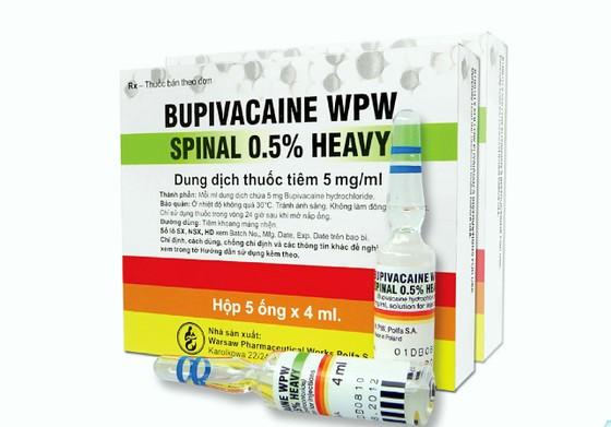Nhiều địa phương cảnh báo thuốc Bupivacaine WPW Spinal 0,5% Heavy ảnh 1