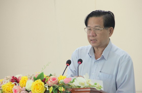Ông Huỳnh Văn Sum thôi giữ chức vụ Phó Bí thư Thường trực Tỉnh ủy Sóc Trăng ảnh 1