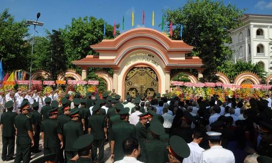Khánh thành Khu nhà tưởng niệm Chủ tịch Hồ Chí Minh tại Quân khu 9 ảnh 1