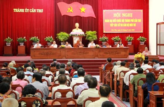 Chủ tịch Quốc hội Nguyễn Thị Kim Ngân tiếp xúc cử tri tại TP Cần Thơ ảnh 1