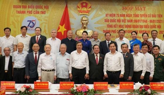 Chủ tịch Quốc hội Nguyễn Thị Kim Ngân dự kỷ niệm 75 năm ngày Tổng tuyển cử đầu tiên bầu Quốc hội ảnh 2