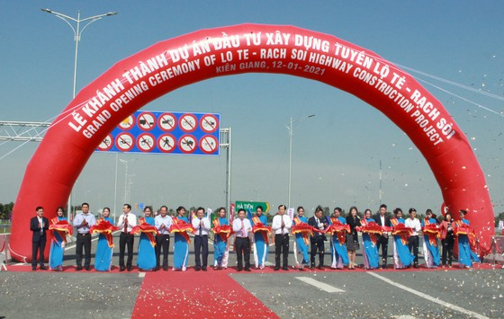 Cao tốc Lộ Tẻ - Rạch Sỏi chính thức thông xe ảnh 1