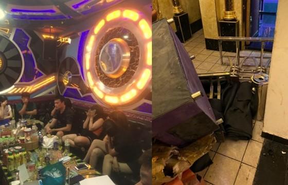 Bắt quả tang cơ sở karaoke hoạt động chui mùa dịch, phát hiện 32 người dương tính với ma túy ảnh 1