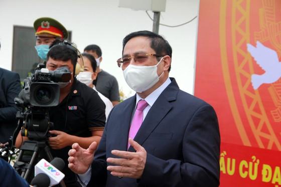 Thủ tướng Chính phủ dự lễ Khai mạc bầu cử và bỏ phiếu tại TP Cần Thơ ảnh 4