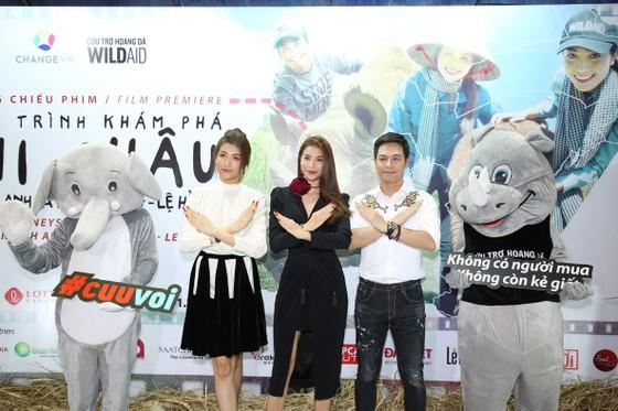 Ra mắt phim Phạm Hương kêu gọi bảo vệ loài voi ảnh 1