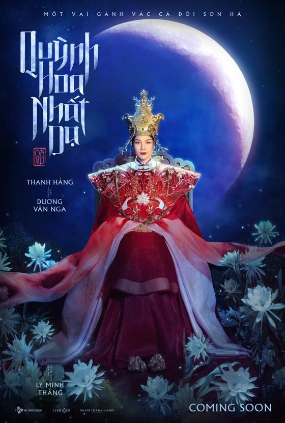 Thanh Hằng hóa thân thành thái hậu Dương Vân Nga trong phim mới ảnh 1