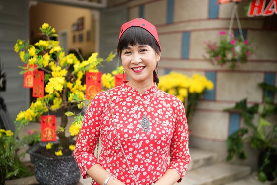 'Mẹ chồng quốc dân' Lan Hương đóng phim truyền hình Tết ảnh 1