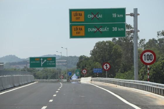 Đưa vào khai thác tạm 65km đường cao tốc Đà Nẵng - Quảng Ngãi  ảnh 3