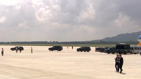 VIDEO: Tổng thống Donald Trump đến Đà Nẵng  ảnh 8