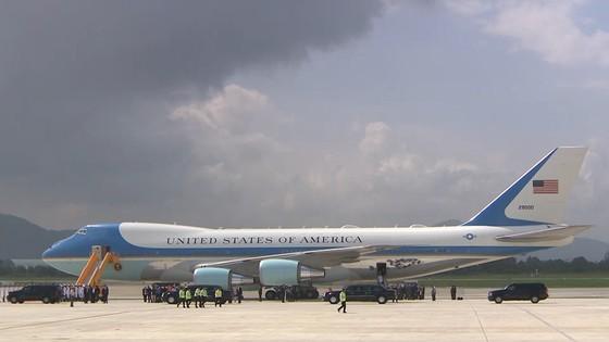 VIDEO: Tổng thống Donald Trump đến Đà Nẵng  ảnh 1