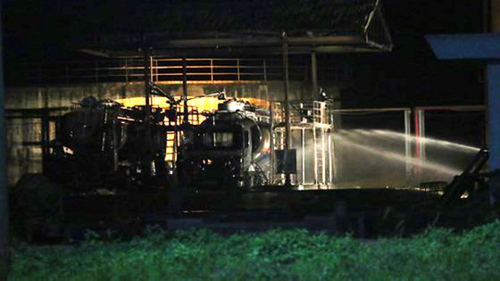 Điều tra nguyên nhân cháy xe bồn tại nhà máy Ethanol Đại Tân  ảnh 1