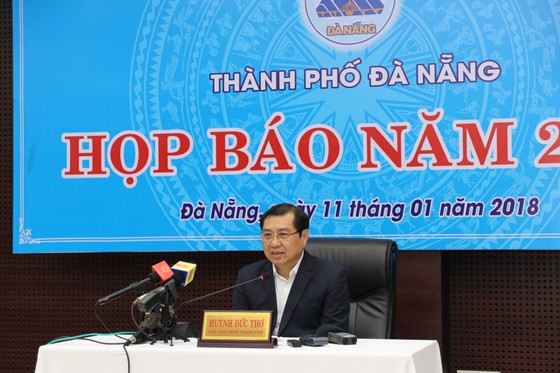 """Đà Nẵng họp báo quý IV năm 2017 với nhiều vấn đề """"nóng""""  ảnh 1"""