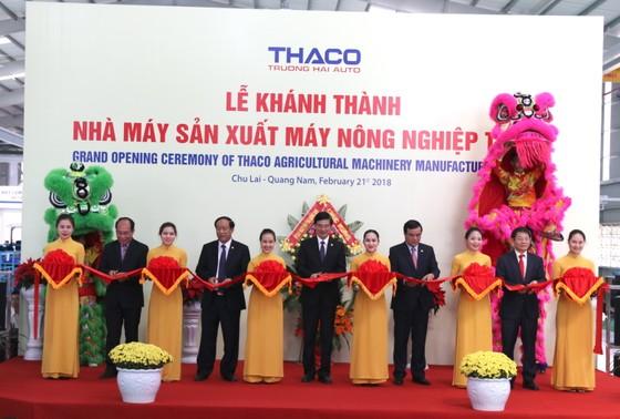 Quảng Nam đưa vào hoạt động nhà máy sản xuất máy nông nghiệp lớn và hiện đại nhất nước  ảnh 5