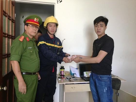 Đà Nẵng: Cháy kho hàng tại công ty thiết bị số  ảnh 2