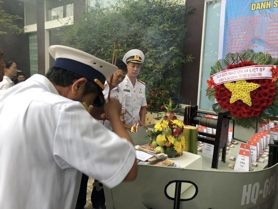 Tưởng niệm 64 chiến sĩ Gạc Ma  ảnh 2