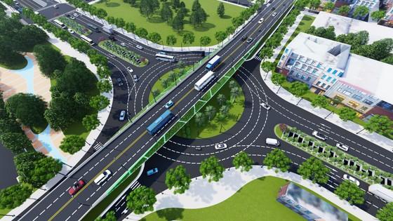 Từ 1-5, phân luồng từ xa phục vụ thi công nút giao thông phía Tây cầu Trần Thị Lý ảnh 1