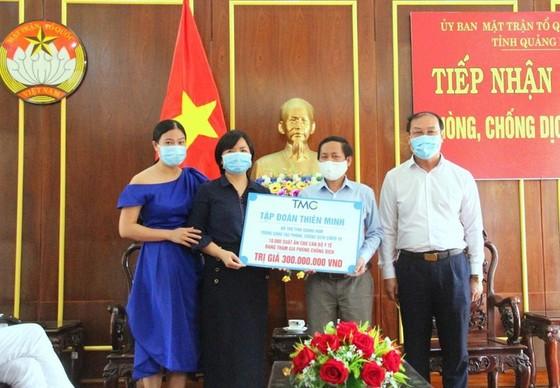 Nhiều doanh nghiệp chung tay cùng tuyến đầu chống dịch Covid-19 ở Quảng Nam và Đà Nẵng ảnh 1