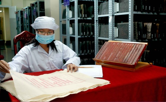 Khám phá nơi lưu trữ Mộc bản Triều Nguyễn ảnh 1