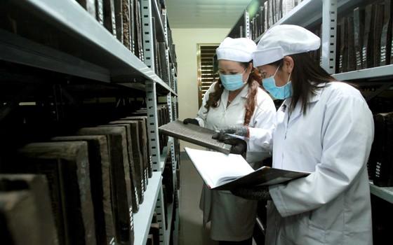 Khám phá nơi lưu trữ Mộc bản Triều Nguyễn ảnh 2