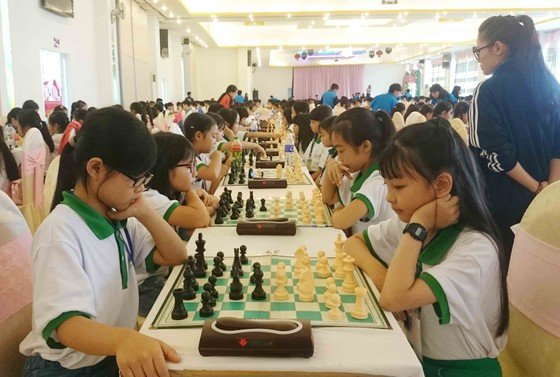 Hơn 900 VĐV dự giải vô địch cờ vua trẻ toàn quốc năm 2017 ảnh 6