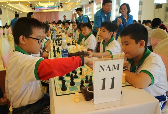 Hơn 900 VĐV dự giải vô địch cờ vua trẻ toàn quốc năm 2017 ảnh 3