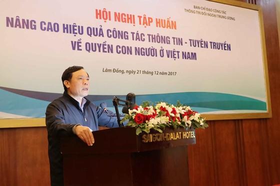 Nâng cao hiệu quả công tác thông tin, tuyên truyền về quyền con người ở Việt Nam ảnh 2