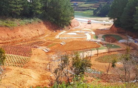 Tháo dỡ công trình trái phép trong dự án nghỉ dưỡng cao cấp tại Đà Lạt ảnh 2