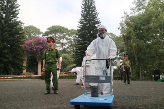 Diễn tập ứng phó sự cố bức xạ và hạt nhân ở Đà Lạt ảnh 4