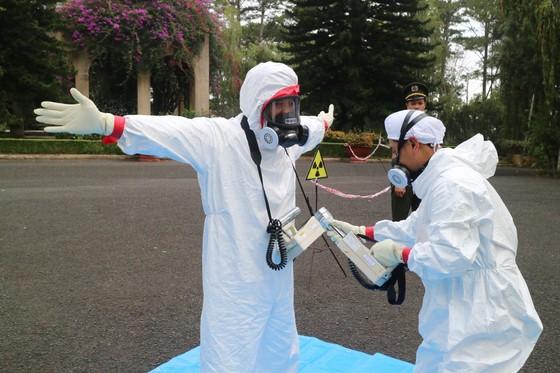 Diễn tập ứng phó sự cố bức xạ và hạt nhân ở Đà Lạt ảnh 5