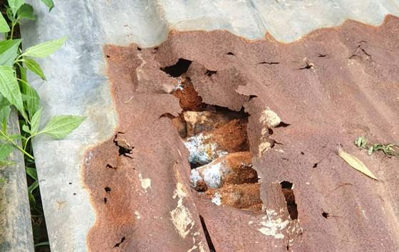 Múc trúng hầm đạn ở đèo Bảo Lộc khi đào hố di dời cột điện ảnh 1
