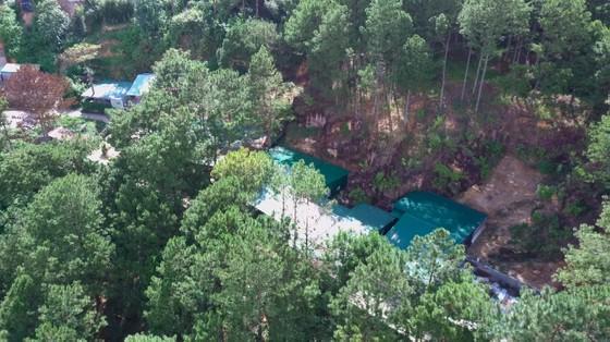 Hơn chục căn nhà trái phép 'mọc' trong rừng thông ở Đà Lạt ảnh 1