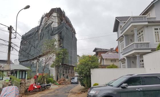 Khách sạn ở trung tâm Đà Lạt xây vượt tầng, sai phép 800m² ảnh 1