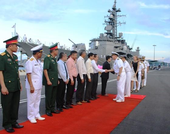 Tàu quân sự nước ngoài tham gia Chương trình đối tác Thái Bình Dương 2017 ảnh 1