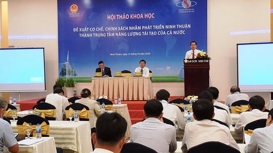 Ninh Thuận cần cơ chế để trở thành Trung tâm năng lượng tái tạo cả nước ảnh 1