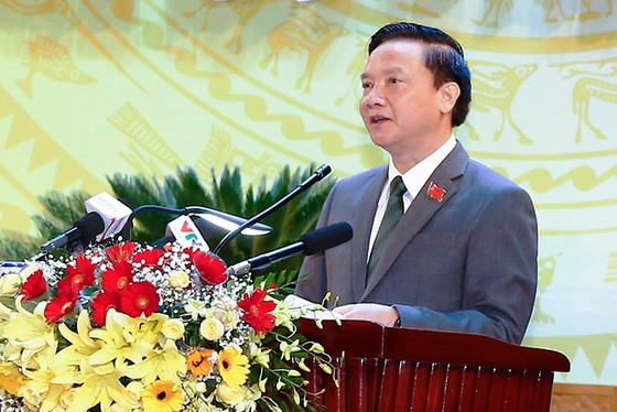 Đồng chí Nguyễn Khắc Định tái đắc cử Bí thư Tỉnh ủy Khánh Hòa  ảnh 1