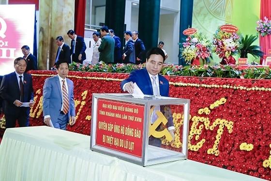 Đồng chí Nguyễn Khắc Định tái đắc cử Bí thư Tỉnh ủy Khánh Hòa  ảnh 2