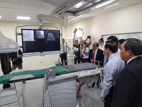 Bệnh viện Khánh Hòa có máy chụp mạch máu số hóa xóa nền trị giá 29 tỷ đồng ảnh 2