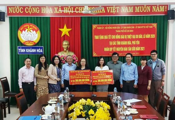 TPHCM tặng nhân dân Khánh Hòa và Phú Yên 600 triệu đồng ảnh 4
