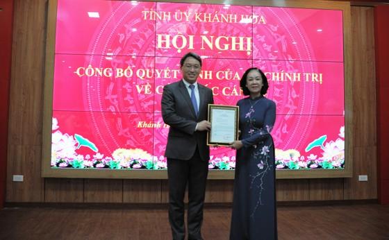 Ông Nguyễn Hải Ninh giữ chức Bí thư Tỉnh ủy Khánh Hòa ảnh 1