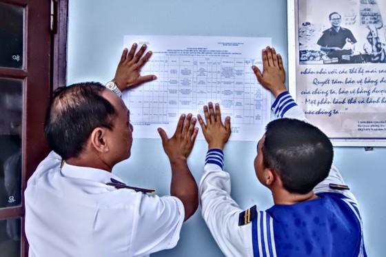 Trường Sa có 20 khu vực tổ chức bầu cử sớm ảnh 2