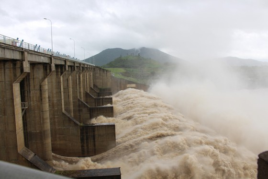 Thủy điện Lai Châu xả lũ với lưu lượng lớn nhất, xấp xỉ 8.000m³/s ảnh 2