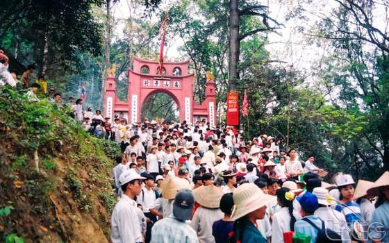 Thời tiết thất thường trong dịp Giỗ tổ Hùng Vương năm nay ảnh 1