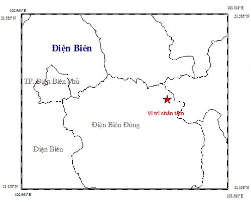 Động đất dồn dập tại tỉnh Điện Biên ảnh 2