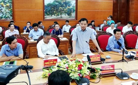 """""""Thất bại"""" với dịch tả heo, Bộ NN-PTNT muốn tỉnh Thái Bình học tập tỉnh Hòa Bình ảnh 3"""