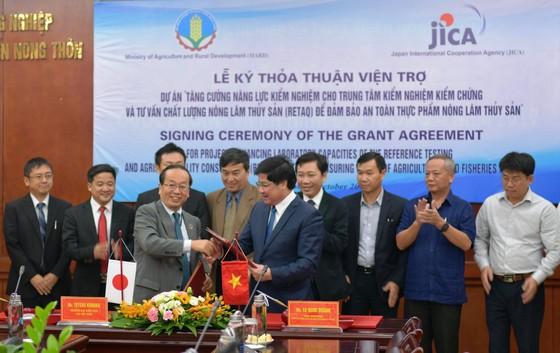 Nhật Bản viện trợ Việt Nam 10,9 triệu USD giám sát an toàn thực phẩm ảnh 2
