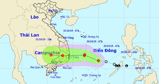Cơn bão Con voi kinh hoàng 'sắp trở lại' Nam Trung bộ  ảnh 2