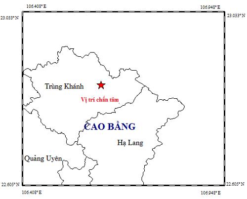 Động đất mạnh 5.4 độ richter tại huyện Trùng Khánh, tỉnh Cao Bằng ảnh 2