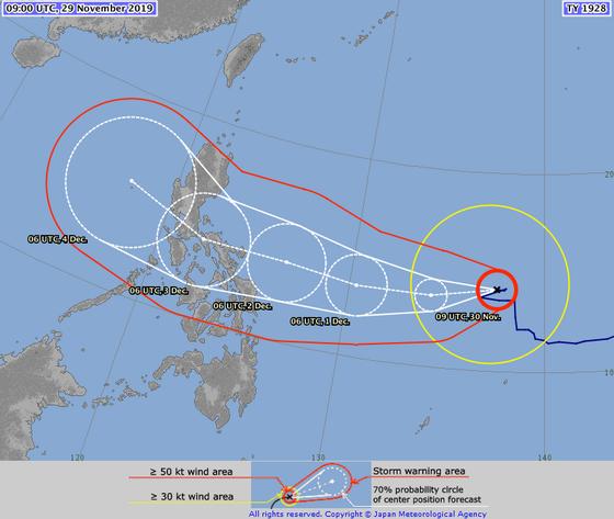 'Siêu bão' Kammuri tiến vào biển Đông sau khi càn quét Philippines ảnh 3