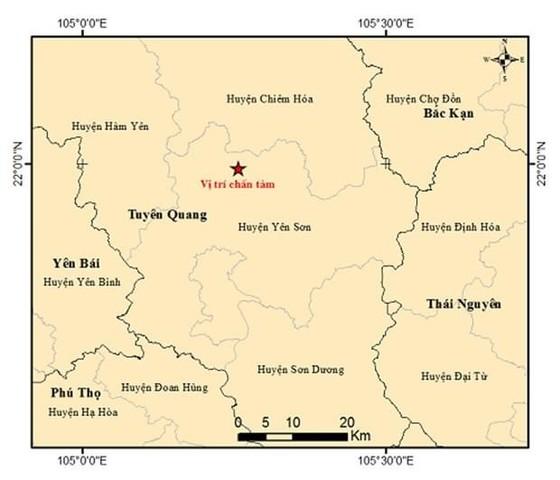 Động đất nhẹ tại Tuyên Quang ảnh 1