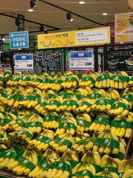 Chuối Việt Nam được bán trong siêu thị Lotte Mart tại Hàn Quốc ảnh 2